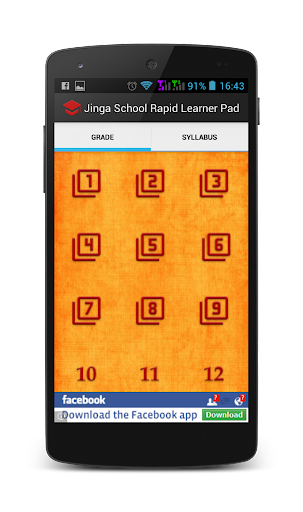 Jinga School Rapid Learner Pad
