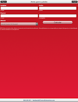Screenshot of Concrete & Agg Calculator