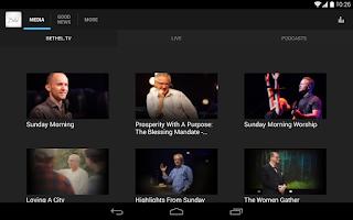 Screenshot of iBethel