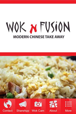 Wok Fusion Chinese Takeaway