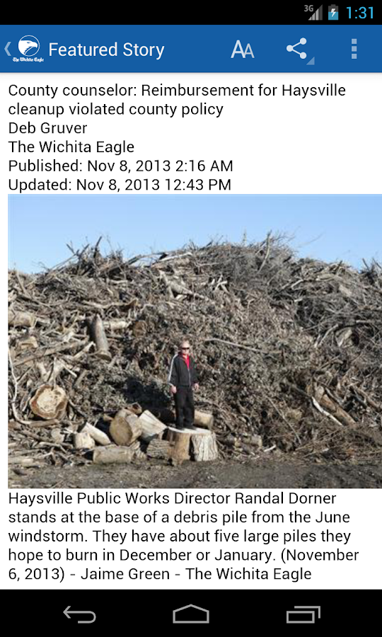 The Wichita Eagle & Kansas.com - screenshot