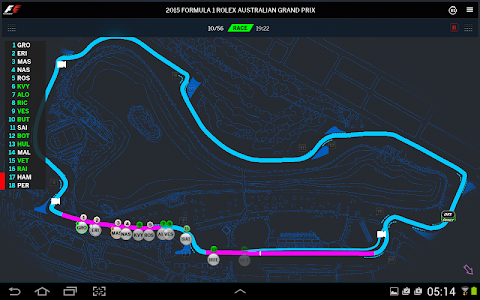 Official F1 ® App v7.064