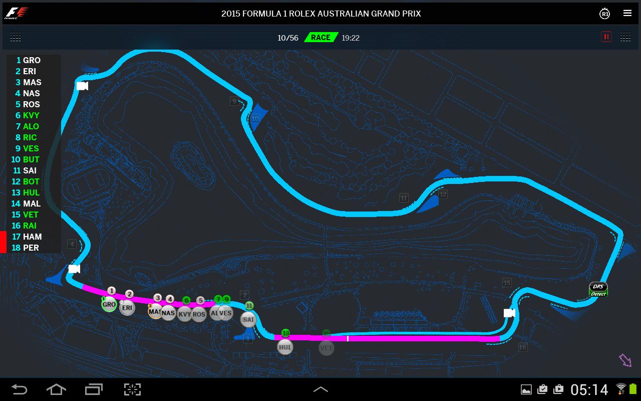 Official F1 ® App- screenshot