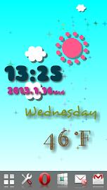 Weather Flow ! Live Wallpaper Screenshot 9