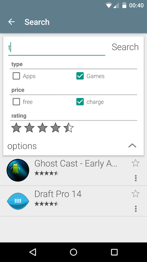 Cast Store for Chromecast Apps - screenshot