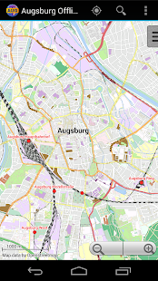 Augsburg Offline City Map- screenshot thumbnail