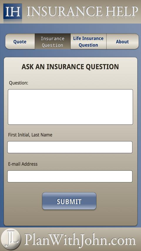 Insurance Help - screenshot