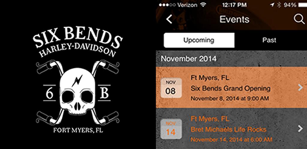 Six Bends Harley Davidson 4 4 6 Apk Download Com App Sixbendshd