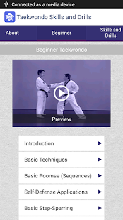 Taekwondo Skills and Drills- screenshot thumbnail