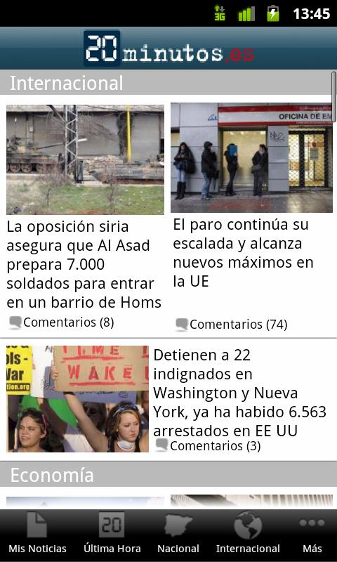 20minutos.es Noticias - screenshot