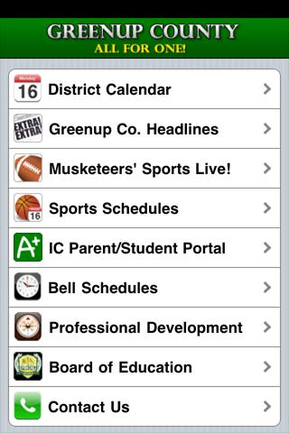 Greenup County Schools - screenshot