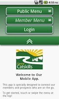 Screenshot of Central Catskill Chamber - NY