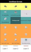 Screenshot of CorelDraw & PhotoPaint Keypad
