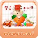 NK 카톡_모모N모니_당근이지 카톡테마 icon