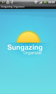 Sungazing Organizer- screenshot thumbnail