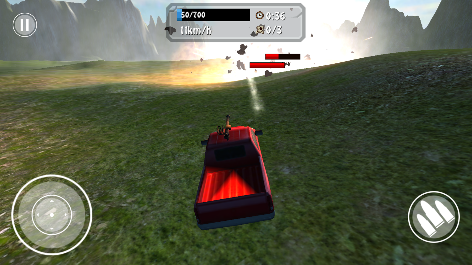 Battle Car Wreck Combat Action- screenshot