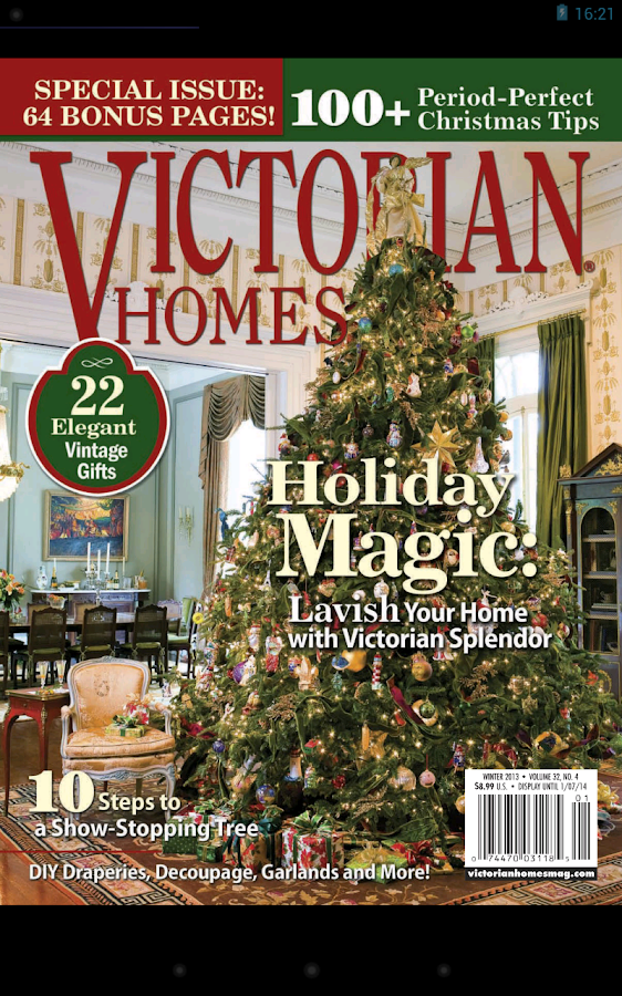 Victorian Homes Magazine - screenshot