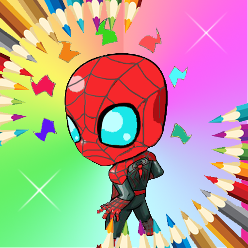 Spidy Coloring Paint Kids