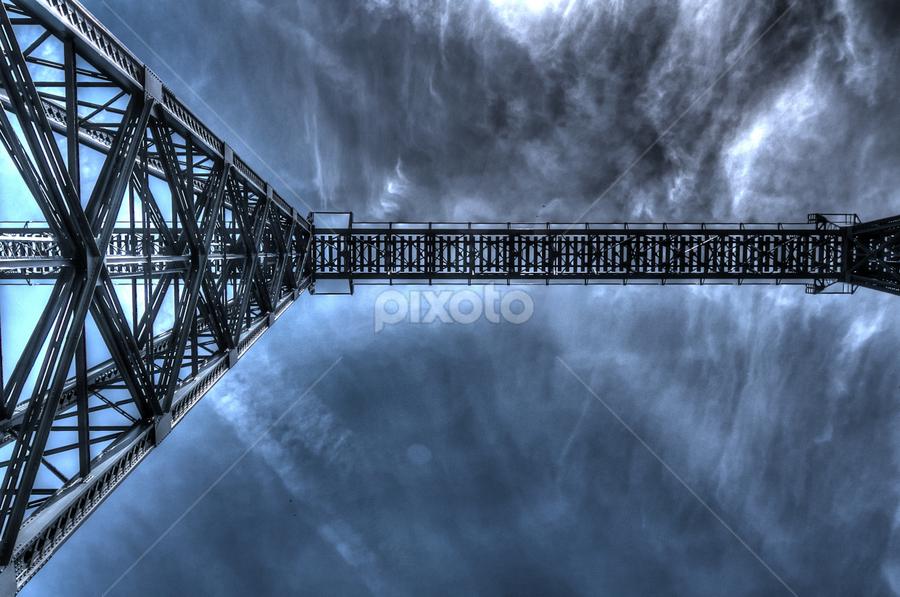 Old train bridge by Carlos Pereira - Buildings & Architecture Bridges & Suspended Structures (  )