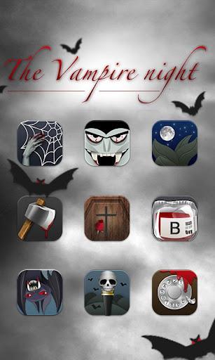 Vampire night GO LauncherTheme