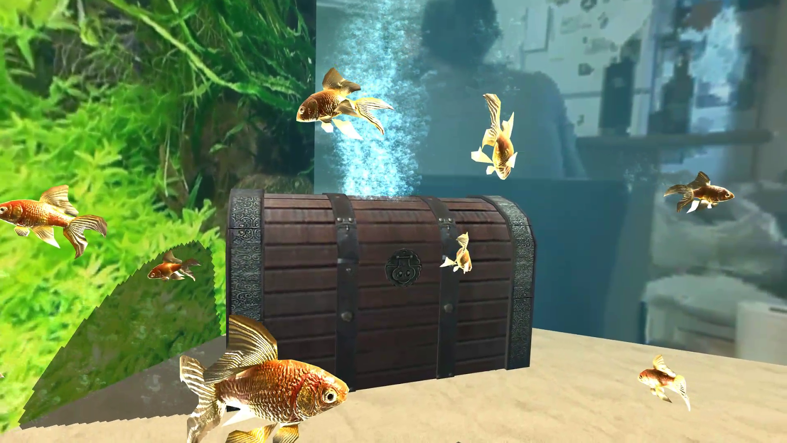 Goldfish VR for Cardboard- screenshot