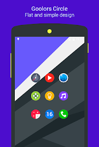 Goolors Circle - icon pack screenshot 8