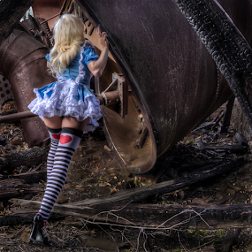 Alice by Dave Zuhr - Public Holidays Halloween ( sexy, wonderland, alice, d_zuhr, dzuhr,  )