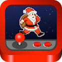 Santa's coming ( Christmas ) logo