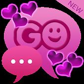 GO SMS Pro Theme Hearts