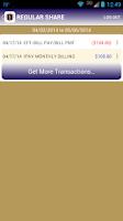 Screenshot of WVNGFCU Mobile Banking