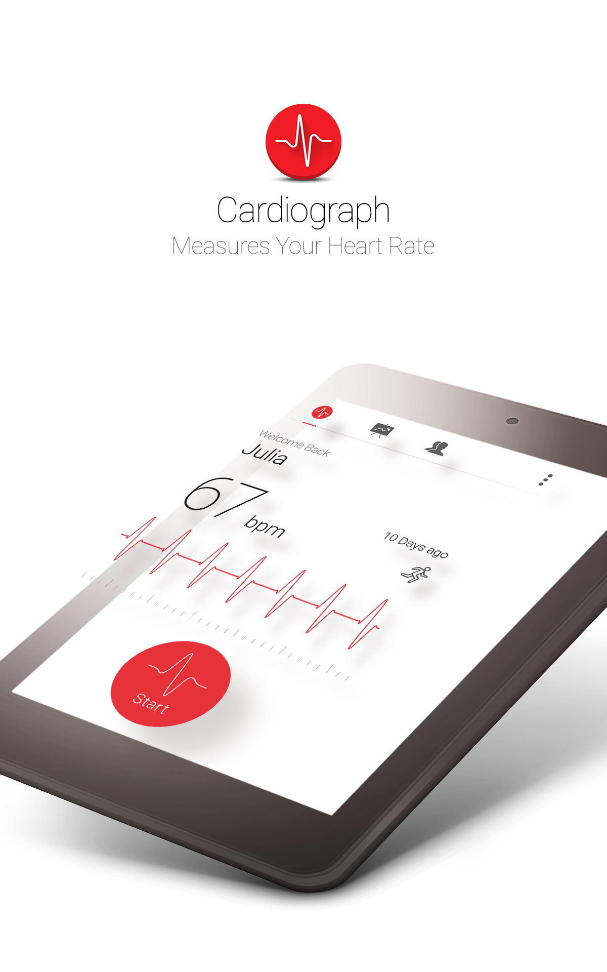 Cardiograph - Heart Rate Meter screenshot #11