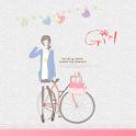 Girl Next Launcher 3D theme icon