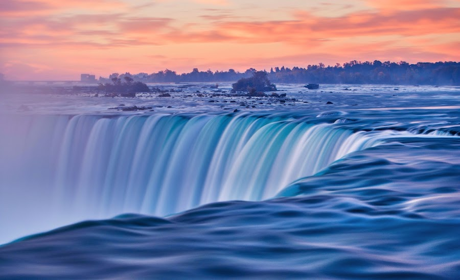 The mighty Niagara by Piroska B - Travel Locations Landmarks (  )
