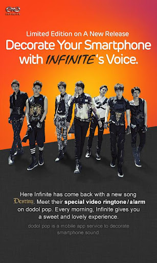 INFINITE destiny for dodol pop