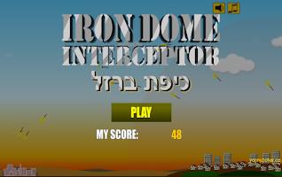 Screenshot of Iron Dome Interceptor