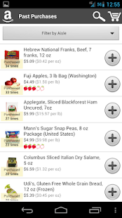 AmazonFresh - screenshot thumbnail