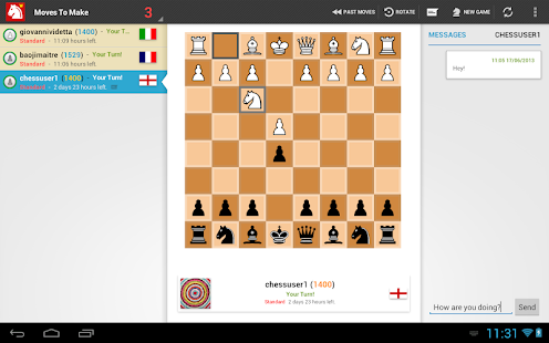 Chess-presso Multiplayer Chess - screenshot thumbnail