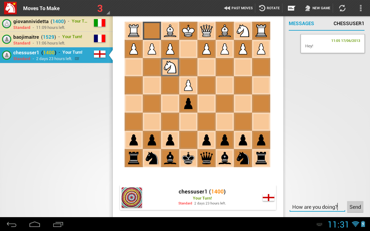 Chesspresso- screenshot