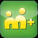 M+ Messenger logo
