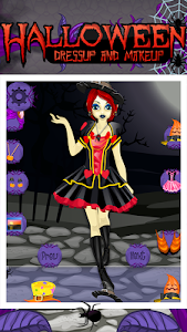 Halloween Makeup and Dressup v38.1.1