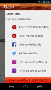 Alberta Wildfire- screenshot thumbnail