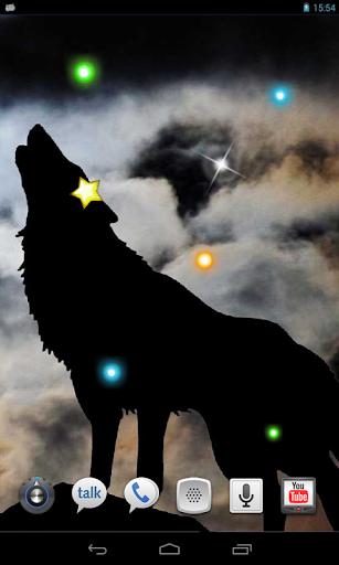 Wolves Voices live wallpaper