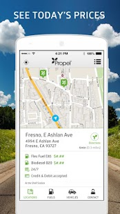 Propel Station Locator- screenshot thumbnail