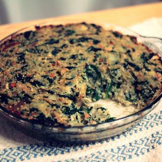 Greek Chicken, Spinach, and Quinoa Bake.