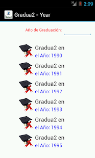 Graduados- screenshot thumbnail
