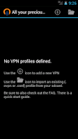 Screenshot of OpenVPN for Android