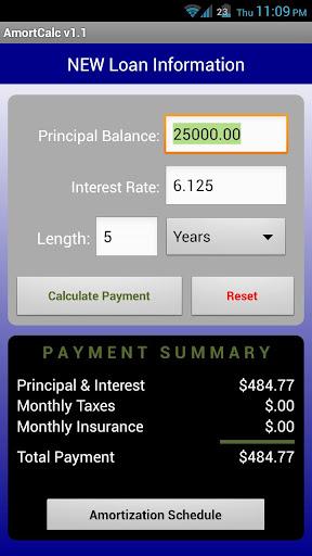 AmortCalc FULL Loan Calculator