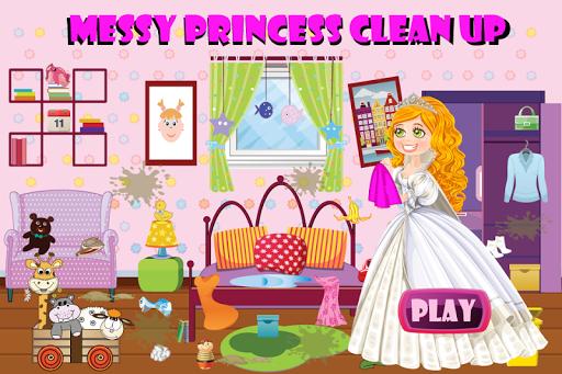 凌乱的公主清理