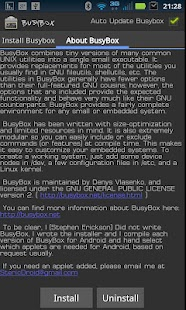 BusyBox Screenshot 1