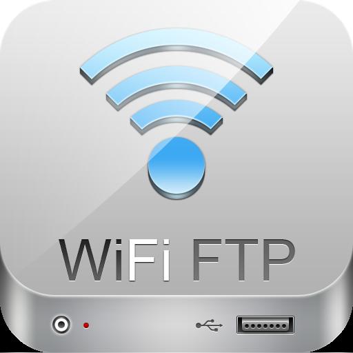 WiFi FTP Pro (軟體數據線) LOGO-APP點子